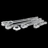 """Sealey AK667238M Ratchet Wrench Master Set 5pc 3/8"""" Sq Drive"""