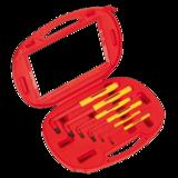 Sealey AK7177 Hex Key Set 6pc Extra-Long VDE