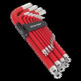 Sealey AK7187 Jumbo Ball-End Hex Key Set 13pc Anti-Slip - Metric