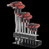 Sealey AK7195 Ball-End Hex Key Set 8pc T-Handle Metric