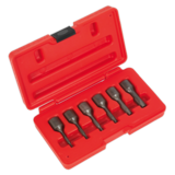 "Sealey AK8185 Screw Extractor Set 6pc 3/8"" Sq Drive"