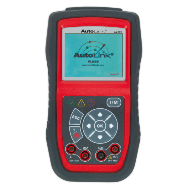 Sealey AL539 Autel EOBD Code Reader - Electrical Tester Thumbnail 1