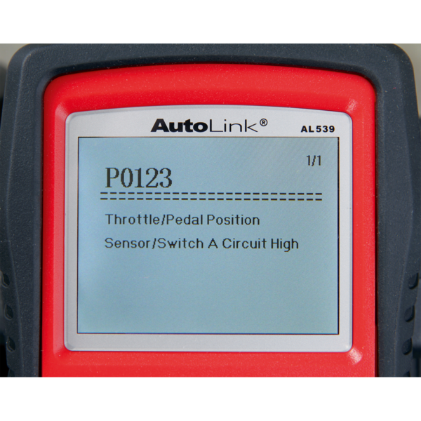 Sealey AL539 Autel EOBD Code Reader - Electrical Tester Thumbnail 10