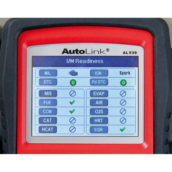 Sealey AL539 Autel EOBD Code Reader - Electrical Tester Thumbnail 9