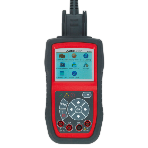 Sealey AL539 Autel EOBD Code Reader - Electrical Tester Thumbnail 4