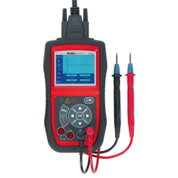 Sealey AL539 Autel EOBD Code Reader - Electrical Tester Thumbnail 2