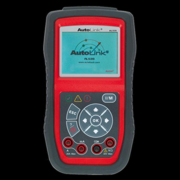 Sealey AL539B Autel EOBD Code Reader - Electrical & Battery Tester Thumbnail 1