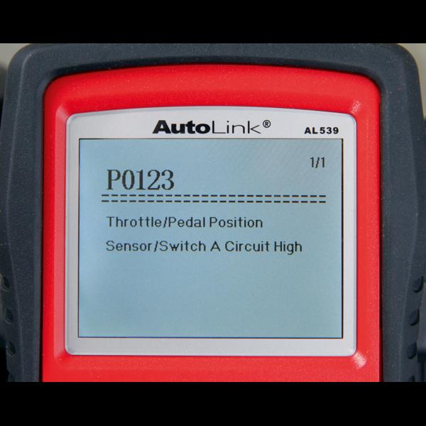 Sealey AL539B Autel EOBD Code Reader - Electrical & Battery Tester Thumbnail 7