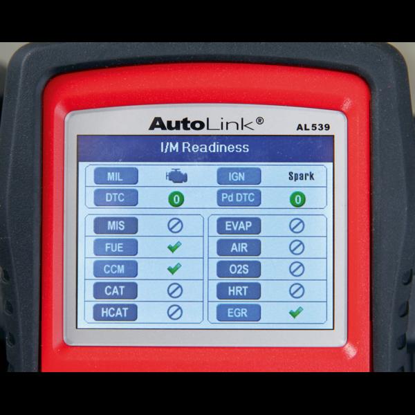 Sealey AL539B Autel EOBD Code Reader - Electrical & Battery Tester Thumbnail 6