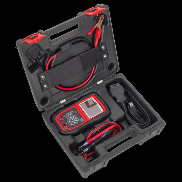 Sealey AL539B Autel EOBD Code Reader - Electrical & Battery Tester Thumbnail 2