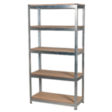 Sealey AP6350GS Racking Unit 5 Shelf 350kg Capacity Per Level