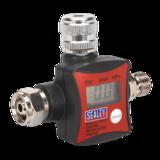 Sealey ARD01 On-Gun Air Pressure Regulator/Gauge Digital
