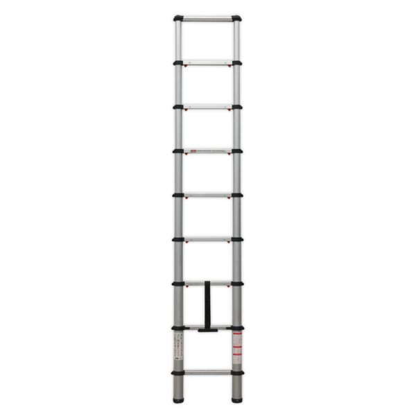 Sealey ATL09 Aluminium Telescopic Ladder 9-Tread EN 131 Thumbnail 2