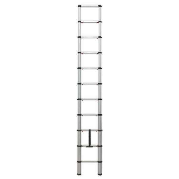 Sealey ATL11 Aluminium Telescopic Ladder 11-Tread EN 131 Thumbnail 2