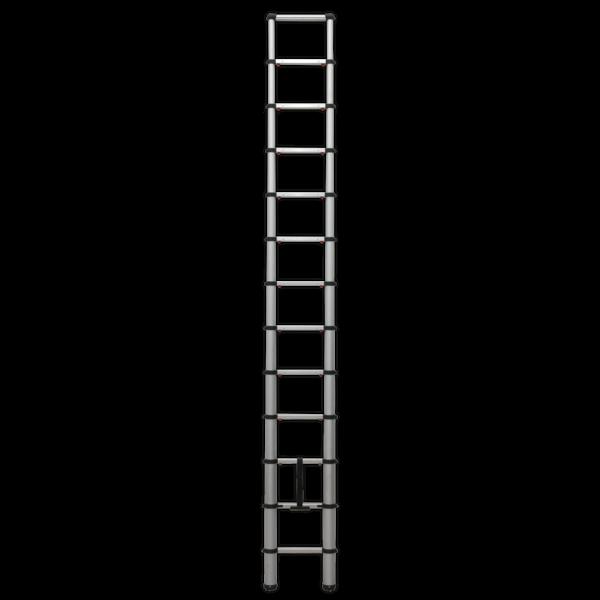 Sealey ATL13 Aluminium Telescopic Ladder 13-Tread EN 131 Thumbnail 2