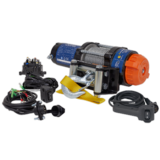 Sealey ATV1135 ATV/Quad Recovery Winch 1135kg (2500lb) Line Pull 12V