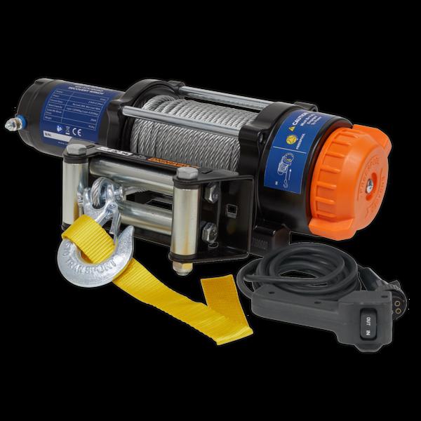 Sealey ATV2040 ATV/Quad Recovery Winch 2040kg (4500lb) Line Pull 12V Thumbnail 2