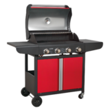 Sealey BBQ10 Gas BBQ 4 Burner Barbecue