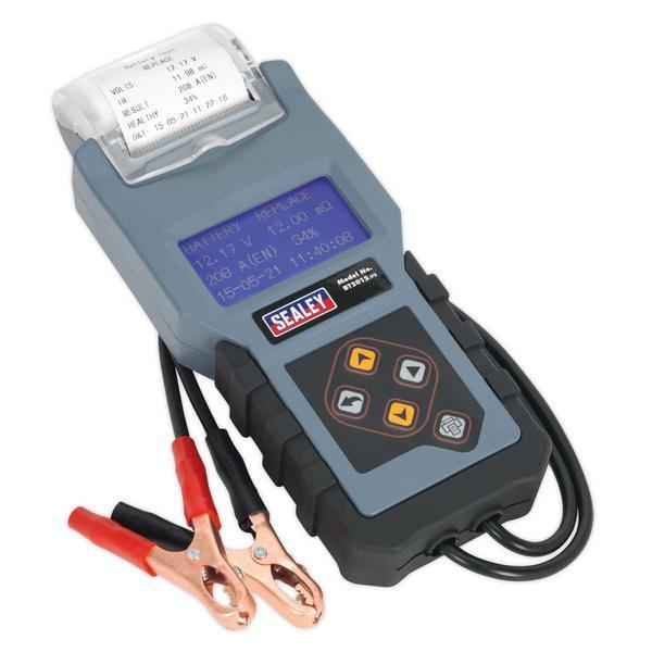 Sealey BT2012 Digital Battery & Alternator Tester with Printer 12V Thumbnail 1