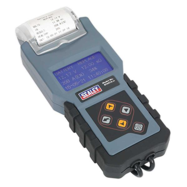 Sealey BT2012 Digital Battery & Alternator Tester with Printer 12V Thumbnail 4