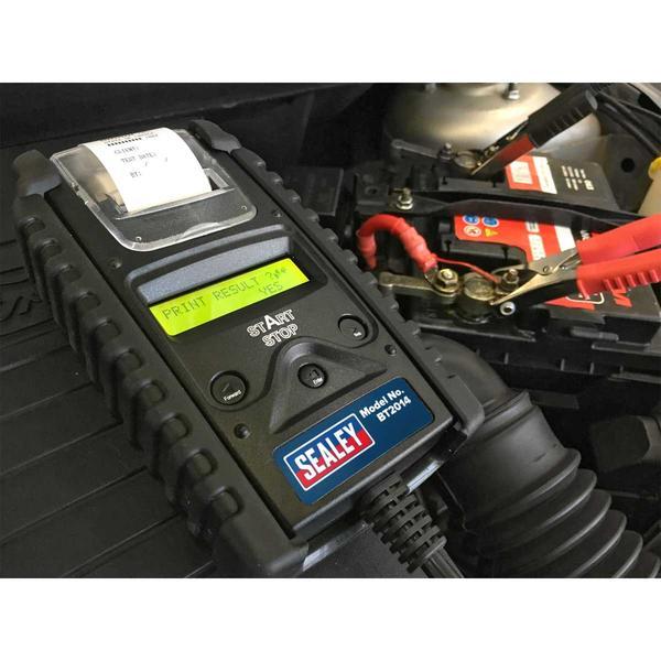 Sealey BT2014 Digital Battery & Alternator Tester with Printer 6/12V Thumbnail 2