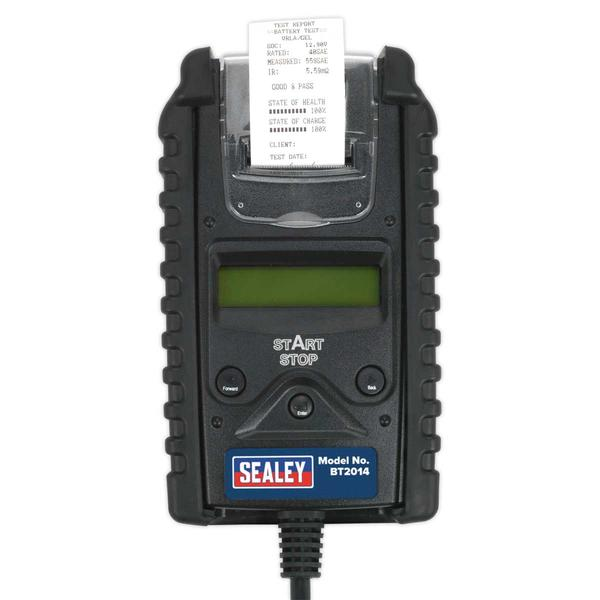 Sealey BT2014 Digital Battery & Alternator Tester with Printer 6/12V Thumbnail 3