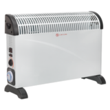 Sealey CD2005TT Convector Heater 2000W/230V with Turbo Fan, Timer & Thermostat