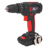 Sealey Cordless Li-ion 10mm Hammer Drill/Driver 18V 1.5Ah 2-Speed Fast Charger