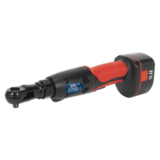 "Sealey CP2144MH Cordless Ratchet Wrench 14.4V 2Ah Ni-MH 3/8"" Square Drive"