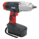 "Sealey CP2450MH Cordless Impact Wrench 24V 2Ah Ni-MH 1/2"" Sq Drive 410lb.ft"