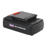 Sealey CP2518LBP Cordless Power Tool Battery 18V 1.3Ah Li-ion for CP2518L