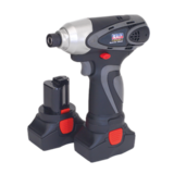 "Sealey CP6003 Cordless Impact Driver 14.4V 2Ah Li-ion 1/4"" Hex Drive 117Nm"