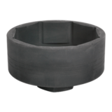 "Sealey CV006 Wheel Shaft Cover Socket for Volvo 1"" Sq Drive 115mm"