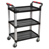 Sealey CX309 Workshop Trolley 3-Level Composite