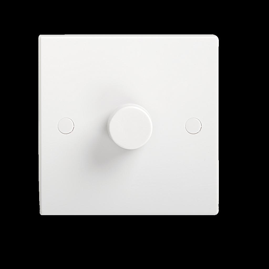 Knightsbridge W5420 1g 2 Way 10 400w Trailing Edge Dimmer Switch For Led Optimized