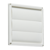 "Knightsbridge EX008W 150mm/6"" Gravity Shutter - White"