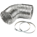 "Knightsbridge EX6DUCT 150mm/6"" Aluminium Ducting Kit"