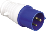 Knightsbridge IN0011 240V IP44 32A Plug 2P+E