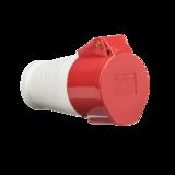 Knightsbridge IN0016 415V IP44 32A Plug 3P+N+E
