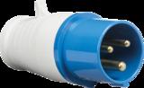 Knightsbridge IN006 240V IP44 16A Plug 2P+E