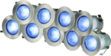 Knightsbridge KIT16B IP65 230V 1W LED Kit - Blue