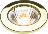 Knightsbridge L02B1 Low Voltage Downlight 50W - Brass Bridge