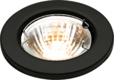 Knightsbridge L02BK1 Low Voltage Downlight 50W - Matt Black Bridge