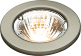 Knightsbridge L02CBR1 Low Voltage Downlight - 50mm B/Chrome Bridge