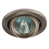 Knightsbridge LE04CBR1 Low Voltage Eyeball 50mm - B/Chrome Bridge
