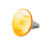 Knightsbridge PAR3880Y Par 38 Lamp 80W Yellow