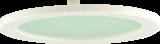Knightsbridge PLDIPCG PLDL Trim Accessory IP40 Clear Glass White