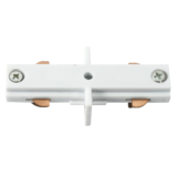 Knightsbridge TRKLCW 230V Track In-Line Connector White