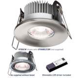 Knightsbridge VFR8CW Proknight LED 8W IP65  Fire Rated 4000K