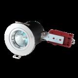 Knightsbridge VFRCL02C 90 Min Fire-Rated LV Downlight 50mm Chrome